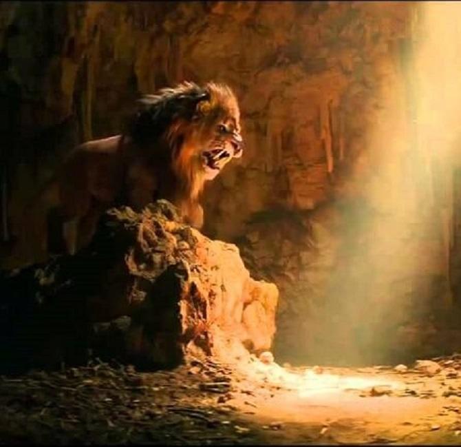 symbolism in the secret lion