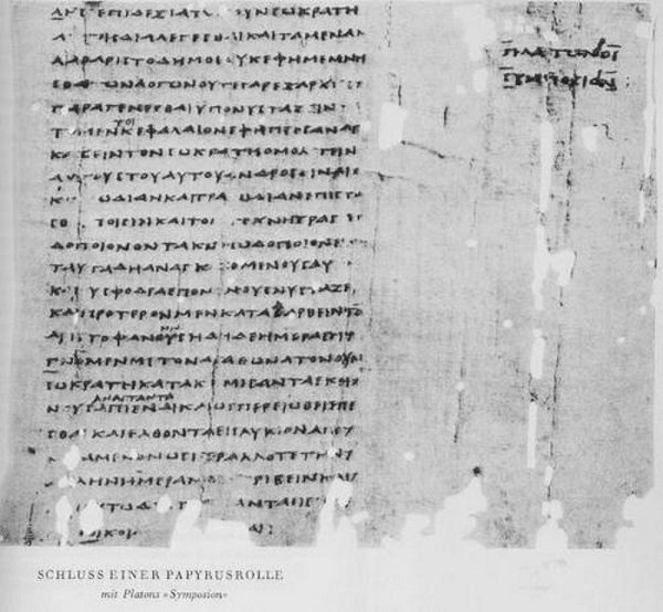 Aristophanes's Speech from Plato's Symposium