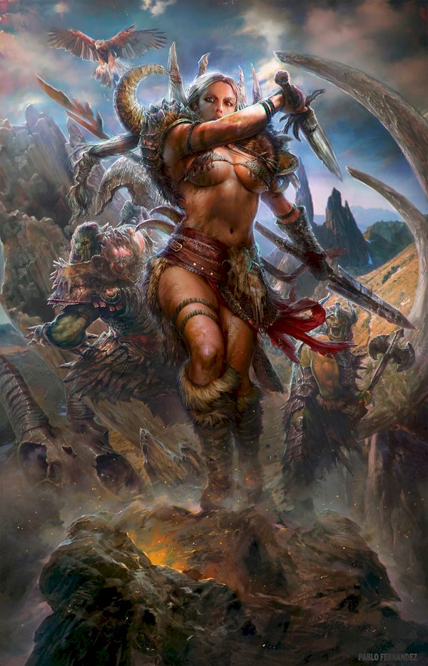 AMAZONS: The Legendary Female Warriors of Ancient Times
