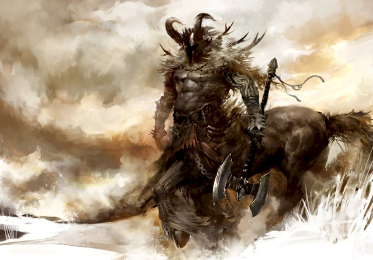 CENTAURS and CHIRON: The legendary Half Man and Half Horse creatures