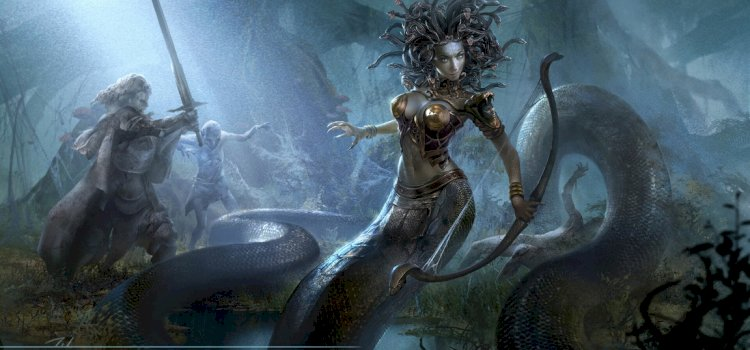 MEDUSA: THE FAMOUS SNAKE-HAIRED GORGON