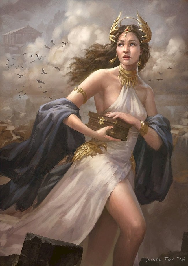 """PANDORA: The famous woman with the powerful """"Mystery Box"""""""