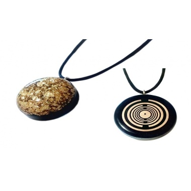 Orgone Golden Pendant - The Golden Touch
