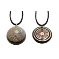 Orgone Silver Pendant - the Tear of the Moon