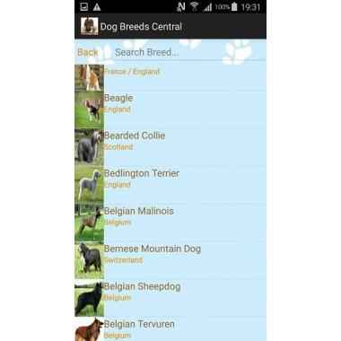 Dog Breeds Central - the Mobile App for Dog Lovers