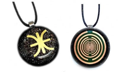 Orgone Pendant - The Mystery of Delphi