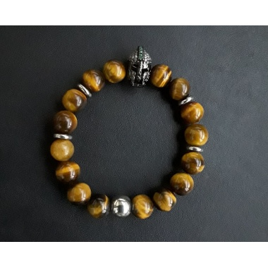 "Spartan ""Gold"" Charm Bracelet - Only for the Tough"