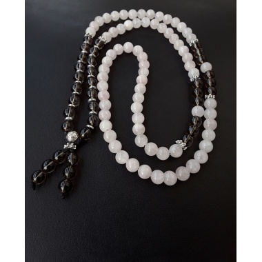 Buddha's Spirit Path - 108 Prayer Beads Tassel Necklace