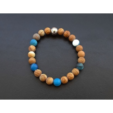 Buddha's Gentle Touch - 108 Mala Prayer Beads Necklace