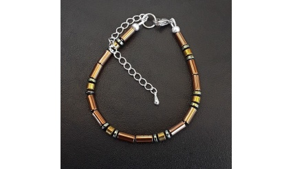 Golden Breath - The Reiki Charm Bracelet