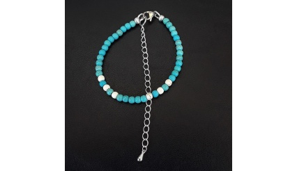 Blue Touch - the Reiki Charged Charm Bracelet