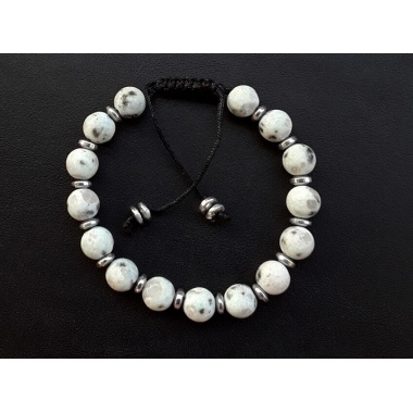 Orpheus' Aura (White) - Energy Infused Power Bracelet