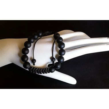 Apollo's Black Arrow - Energy Infused Power Bracelet