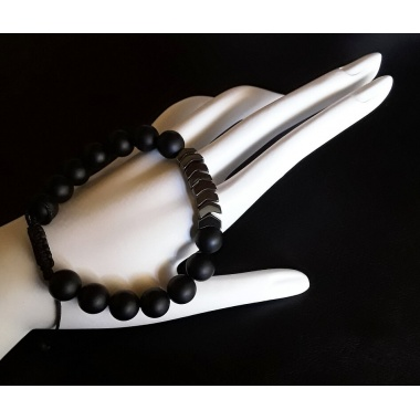 Artemis' Black Arrow - Energy Infused Power Bracelet