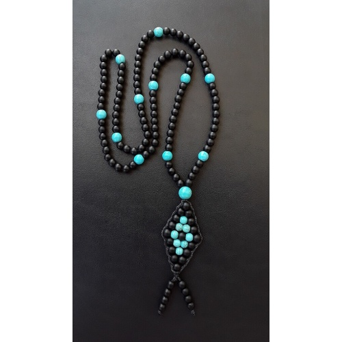 Horus' Eye - Energy Infused Tassel Charm Necklace