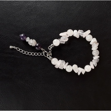 Curetes - the White Reiki charged Volcano bracelet