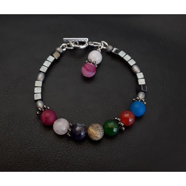 The 7 Chakras - Reiki Charged Charm Bracelet