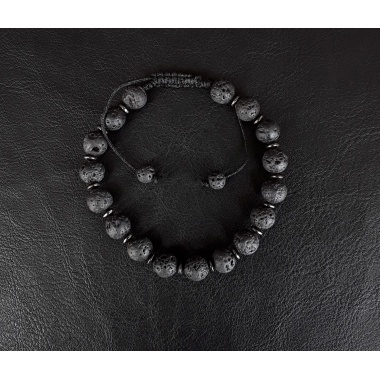 Erebus - Pitch Black Energy Infused Charm Bracelet