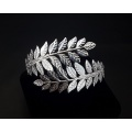 Daphne's Laurel Leaf Bracelet (Silver Version)
