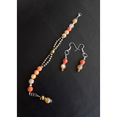 Sunrise the Elegant gemstone Jewelry Set