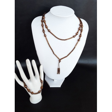 Chains of Destiny, the Bronze Hematite Jewelry set