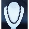 The Emperor pure Black Onyx Necklace
