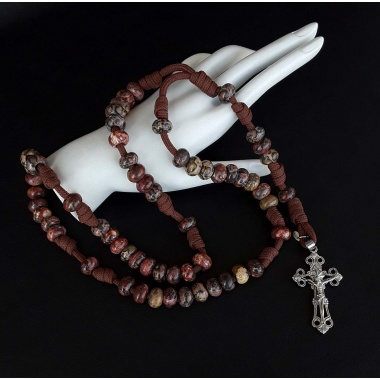 The Prayer 550 Paracord Rosary with the power of our Christ