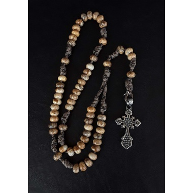The Jasper 550 Paracord Catholic Hail Mary Rosary