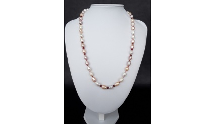 The Royal Pearl Necklace made of Jasper and 925 pure Silver