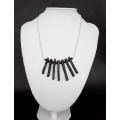 The Zulu Necklace version 2 made of Black Coral and 925 pure Silver