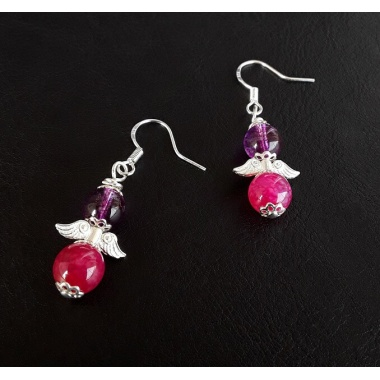The Dragon Veins Earrings Set