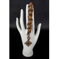 St Benedict Military 550 Paracord Wrist Rosary