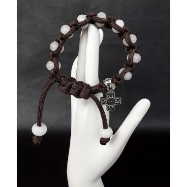 Celtic Military 550 Paracord Wrist Rosary