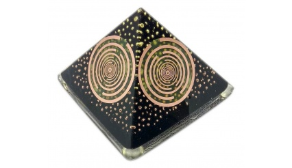 Orgone Dark Etherion the ultra powerful QUINTUPLE BLACK MWO pyramid