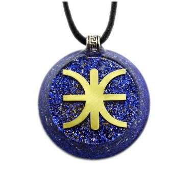 Orgone Pendant - Skyfall - The Mystery of Delphi