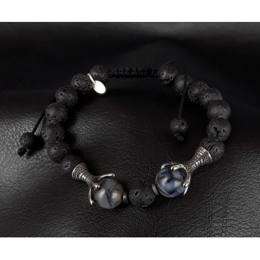 The Lava Dragon Veins Reiki Bracelet