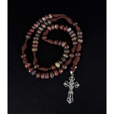 The Prayer Military 550 Paracord 5 Decade Rosary