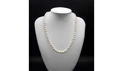 The Pearl Moon Necklace (gold ver)
