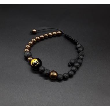 The Yin and Yang Power Bracelet